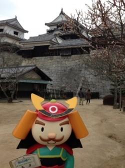 よしあきくんと松山城2