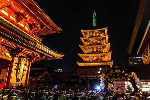 三社祭り 画像